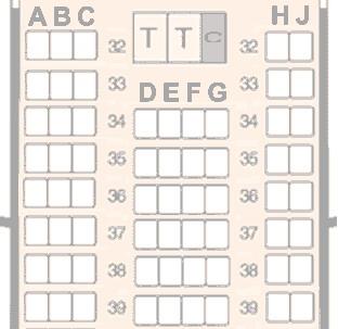 飞机上的座位1